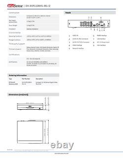 Dahua Xvr Dvr 8 Canaux Enregistreur Vidéo Numérique Hdcvi/ahd/tvi/cvbs Détecteur Automatique