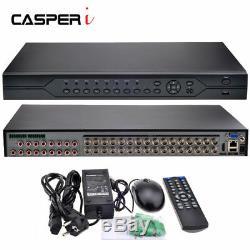 Détection De Mouvement De Nuage De L'enregistreur P2p De Surveillance De Sécurité De Télévision En Circuit Fermé De La Canal Dvr 32ch