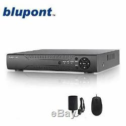 Enregistreur Cctv 8 Canaux Blupont 8ch H. 264 Hd Vga Hdmi 5 En 1 Jusqu'à 1080p Hdmi Bnc