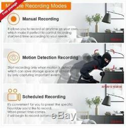 Enregistreur Cctv Dvr Hybride Zosi 8ch Channel 2tb 1080p Hd Pour Caméras De Sécurité Nouveau