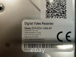 Enregistreur De Vidéosurveillance Blupont Hybride À 8 Canaux 1080p Dvr, 2 To Dvr-8ch-h265-2-bp