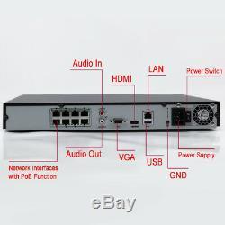 Enregistreur De Vidéosurveillance Hikvision 8 Canaux Ultra Hd 4k Uhd En Réseau Nvr 8mp 4 Poe 8ch Nouveau