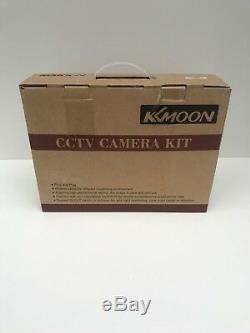 Enregistreur Dvr Cctv Dvr Hybride 4 Canaux H. View 4 Canaux H. Kit Appareil Photo Kkmoon + 4 X 4