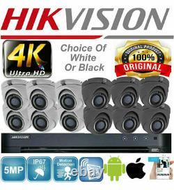 Enregistreur Dvr Hikvision Original 5mp Caméras Full Hd Kit Complet Bundle Uk Specs