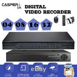 Enregistreur Vidéo Cctv H. 264 Casperi 4in1 4/8/16 / 32ch 2mp 1080p Dvr Avec Disque Dur 1-4 To