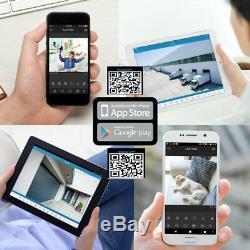 Enregistreur Vidéo De Sécurité 5mp Ahd Hdmi Full Hd 1080p Cctv Smart 4/8/16 Canaux