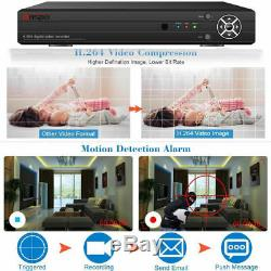 Enregistreur Vidéo Intelligent Cctv Dvr 4/8/16 Canaux Ahd 1080n Hd 720p Vga Hdmi Bnc Ru