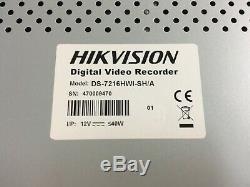 Enregistreur Vidéo Numérique Hikvision Cctv Ds-7216hwi-sh / A 16 Capacité De Caméra