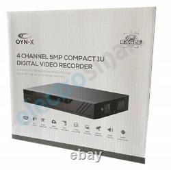 Enregistreur Vidéo Numérique Oyn-x 4 Channel 5mp Dvr Pour Caméras De Sécurité Cctv 2mp 4mp