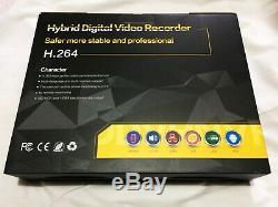Enregistreur Vidéo P2p Hd Vga Hdmi Bnc Du Canal Ahd 1080p De La Sécurité Dvr 4 Intelligente De Vidéosurveillance