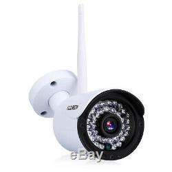 Enregistreur Vidéo Sans Fil Cctv 1080p Dvr De 1tb Hdd 4ch Avec Caméra Ip Wifi Wlan 720p