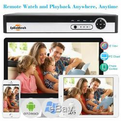 Enregistreur Vidéo Smart Cctv Dvr 4/8/16 Canaux Ahd 1080n Hd 720p Vga Hdmi Bnc Nouveau