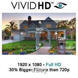 Enregistreur Vidéo Tvi 1080p / 720p Dvr 4/8/16 Canaux Cctv Hd Network Cloud Hdmi