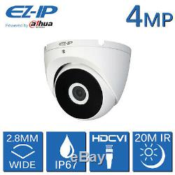 Ez-ip 5mp Dvr 4 Canaux 8 Canaux 16ch Cctv Recorder Caméra 1080p Hdmi Powered By Dahua