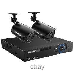 Floureon Home Security System 4/8ch 1080n Cctv Dvr 1500tvl Extérieur Ir Ahd Caméra
