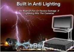 Full Hd Dvr 16ch Enregistrement 1080p Alerte Email P2p À Distance Voir Système De Sécurité