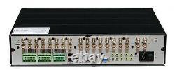Ganz Digimaster Dr-16fx5-3tb 960h Enregistreur Vidéosurveillance À 16 Canaux / Dvr