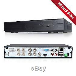 H. 264 4in1 Ahd Nvr Tvi Cvbs 8ch Cctv Enregistreur Vidéo Numérique Hybride Hdmi