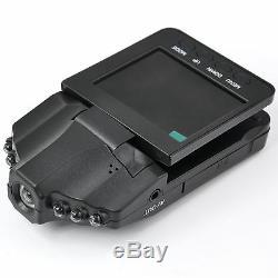 Hd Portable 2.5 Cctv De Vision Nocturne D'affichage À Cristaux Liquides Dans L'enregistreur Visuel D'accident De Caméra De Voiture Dvr