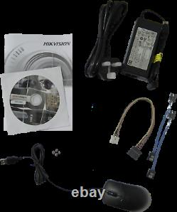 Hikvision 32 Channel Dvr Ds-7332huhi-k4 Tvi/ahd, CVI Cvbs 4k 8mp Recorder+8ch Ip