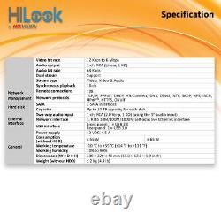 Hikvision Cctv 4mp 1080p 32ch Dvr 32 Channel Hybrid Enregistreur Vidéo Numérique Hdmi