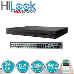 Hikvision Cctv Dvr Turbo Hd Tvi De 24 Canaux Enregistreur Numérique Jusqu'à 20 To