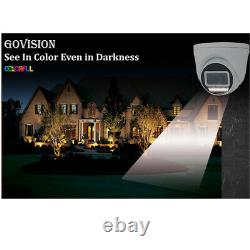 Hikvision Cctv Hd 5mp Colorful Night & Day Outdoor Dvr Home Security System Kit