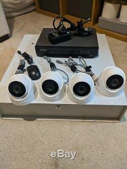 Hikvision Cctv Kit 4 Caméra Et Dvr Enregistreur (poc Câble Coaxial D'alimentation)