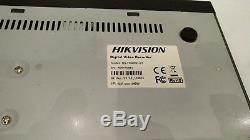 Hikvision Ds-7204hvi-st Enregistreur Vidéo Numérique Dvr 4 Canaux 500gb Hdd Cctv