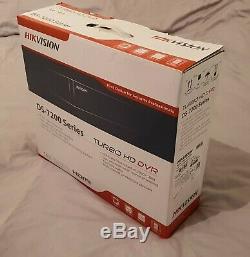 Hikvision Ds-7208huhi-f2 / N 1tb 8 Canaux Cctv Magnétoscope Numérique Tvi / Ahd / Cvbs / Ip Cam