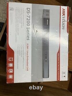 Hikvision Ds-7208hwi-sh/a-2 To Dvr Recorder 8ch Cctv Avec Sortie D'alarme 2 To