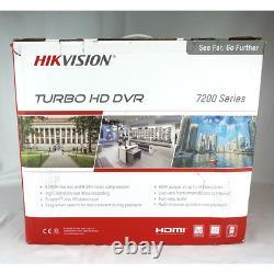 Hikvision Ds-7216hqhi-k2/p Enregistreur Cctv Dvr 16 Channel 4mp Tvi Hybrid Poc Hdmi