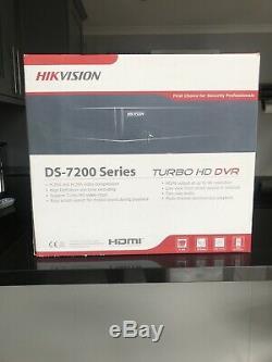 Hikvision Ds-7216huhi-k2 8mp 16 Canaux Tvi, Dvr Et Nvr Cctv Recorder