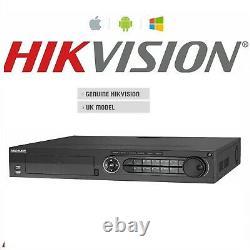 Hikvision Ds-7316hqhi-f4 16 Canaux 4k Turbo Hd 4-en-1 Enregistreur Dvr Hybride Cctv
