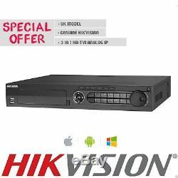 Hikvision Ds-7316hqhi-k4 16 Canaux Hd 4k Turbo Hybride Cctv Dvr Enregistreur