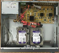 Hikvision Ds-7316huhi-f4 / N Turbo Hd 16 Canaux Hybride Dvr 9tb Cctv Recorder