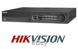 Hikvision Ds-7332hqhi-k4 32 Canaux Turbo Hybride Cctv Magnétoscope Numérique Tvi, Cvi, Ahd