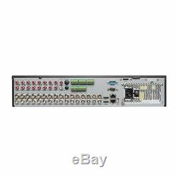 Hikvision Ds-7332hqhi-k4 Enregistreur Dvr Cctv Turbo À 32 Canaux Turbo Tvi, Cvi, Ahd