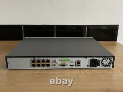 Hikvision Ds-7608ni-k2/8p Cctv Nvr Enregistreur 4k Hd 8 Ch Channel Poe