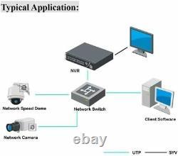 Hikvision Ds-7616ni-i2-16p 16 Channel Network Enregistreur Vidéo Poe Cctv Anpr 12mp