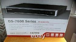 Hikvision Ds-7616ni-k2/16p Plug - Play Cctv Network Video Recorder Nouveau