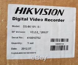 Hikvision Ds-8616ni-st Intégré Nvr Dvr Cctv Enregistreur De 16 Canaux Inc Tva