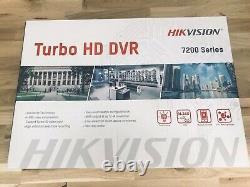 Hikvision Dvr 4 Canaux 4mp Full Hd Canal Système Cctv Enregistreur De Sécurité Turbo 4k Uhd