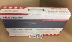 Hikvision Dvr 4ch Hqhi-k1 Turbo Cctv Full Hd 1080p Enregistreur Channel 4 Mp Dvr