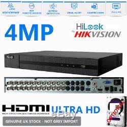 Hikvision Hilook Dvr 4 8 16 32ch Turbo Hd 1080p Hdmi 2mp Vga Cctv Enregistreur Vidéo