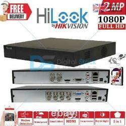 Hikvision Hilook Dvr 4 8 16 Ch Turbo Hd 1080p 2mp Hdmi Vga Cctv Dvr Recorder