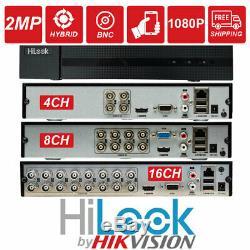 Hikvision Hilook Dvr 4 8 16ch Turbo Hd 1080p Hdmi 2mp Vga Cctv Enregistreur Vidéo Au Royaume-uni