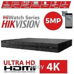 Hilook By Hikvision Dvr-214u-k1 4 Ch 8mp 5mp 5-in 1 Enregistreur Cctv Aoc Hybride