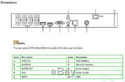 Hilook Par Hikvision Dvr-216u-k2 16 Ch 8mp Hd 1080p-tvi Hybride Cctv Dvr Enregistreur