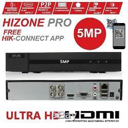Hizone Pro Dvr 4ch 8ch Turbo 8mp 5mp 1920p Full Hdd Channel Video Recorder